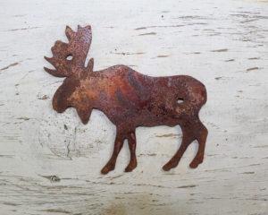 Moose shape decor