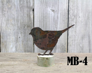 Mounted bird MB-4