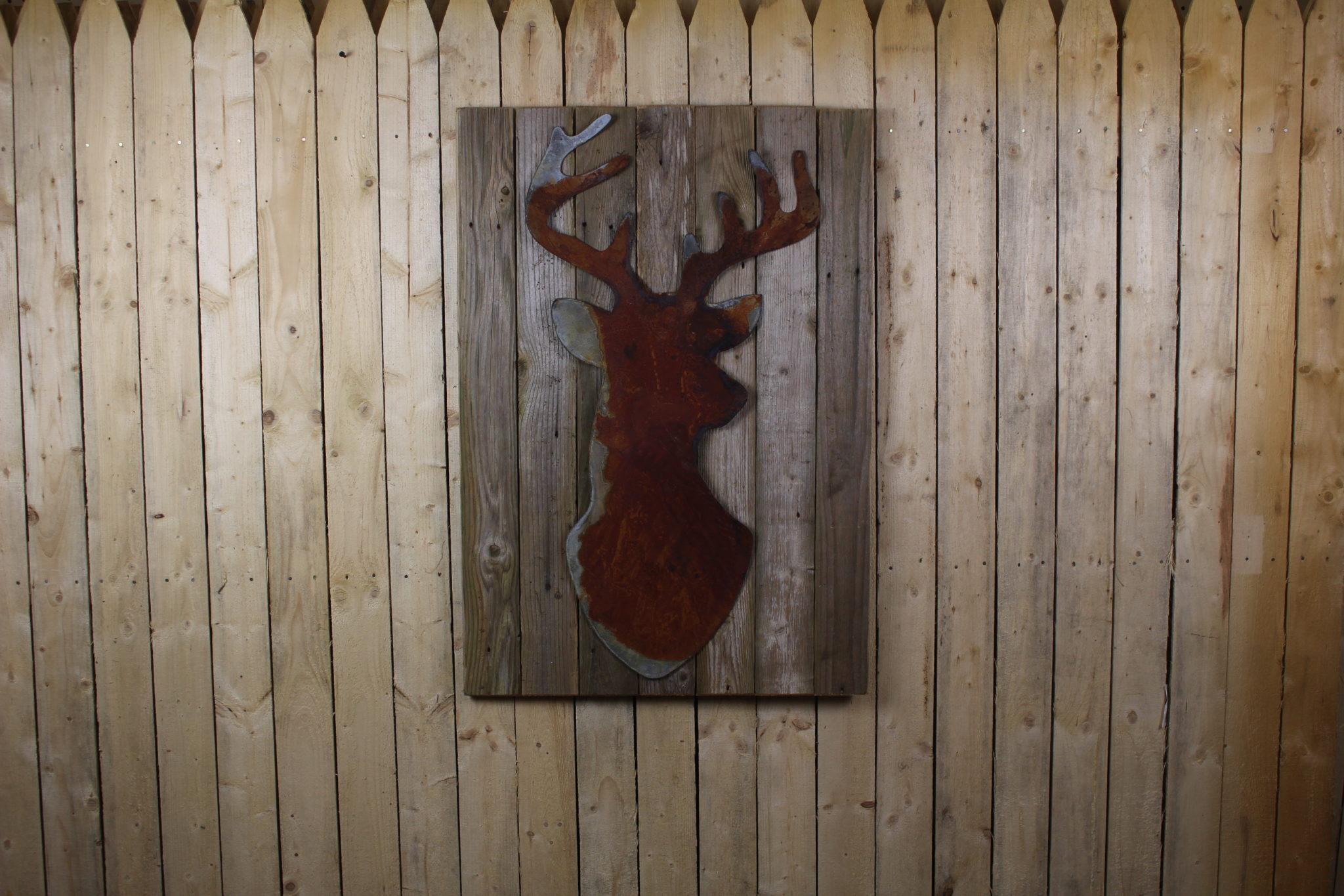 Buckhead on woodback
