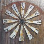 """Full windmill clock 40"""""""