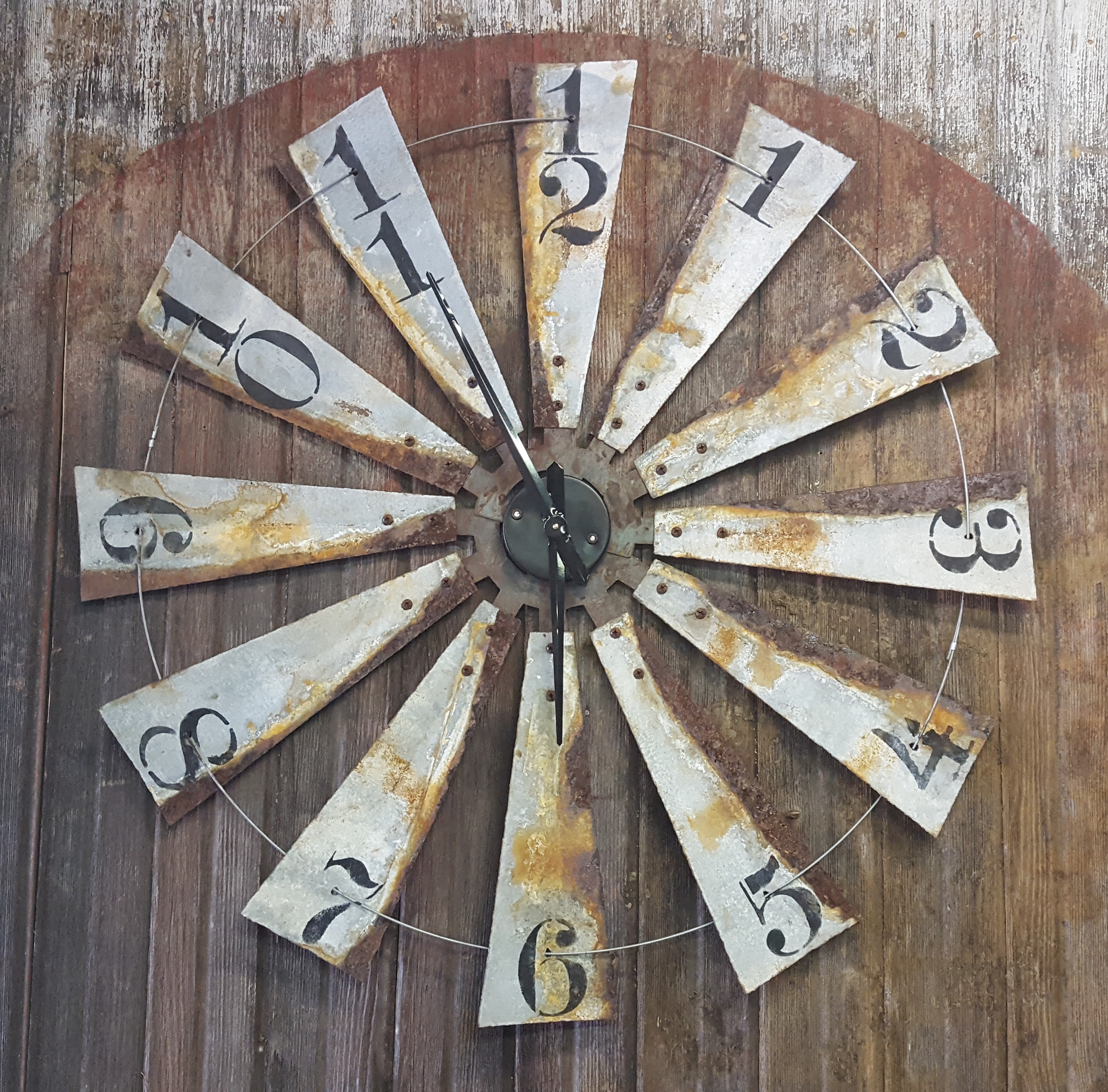 Full windmill clock 40""