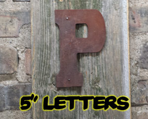 Rusty 5 letters