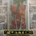 8 rusty letters