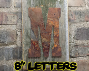 8 rusty letters