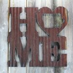 Home with a heart decor