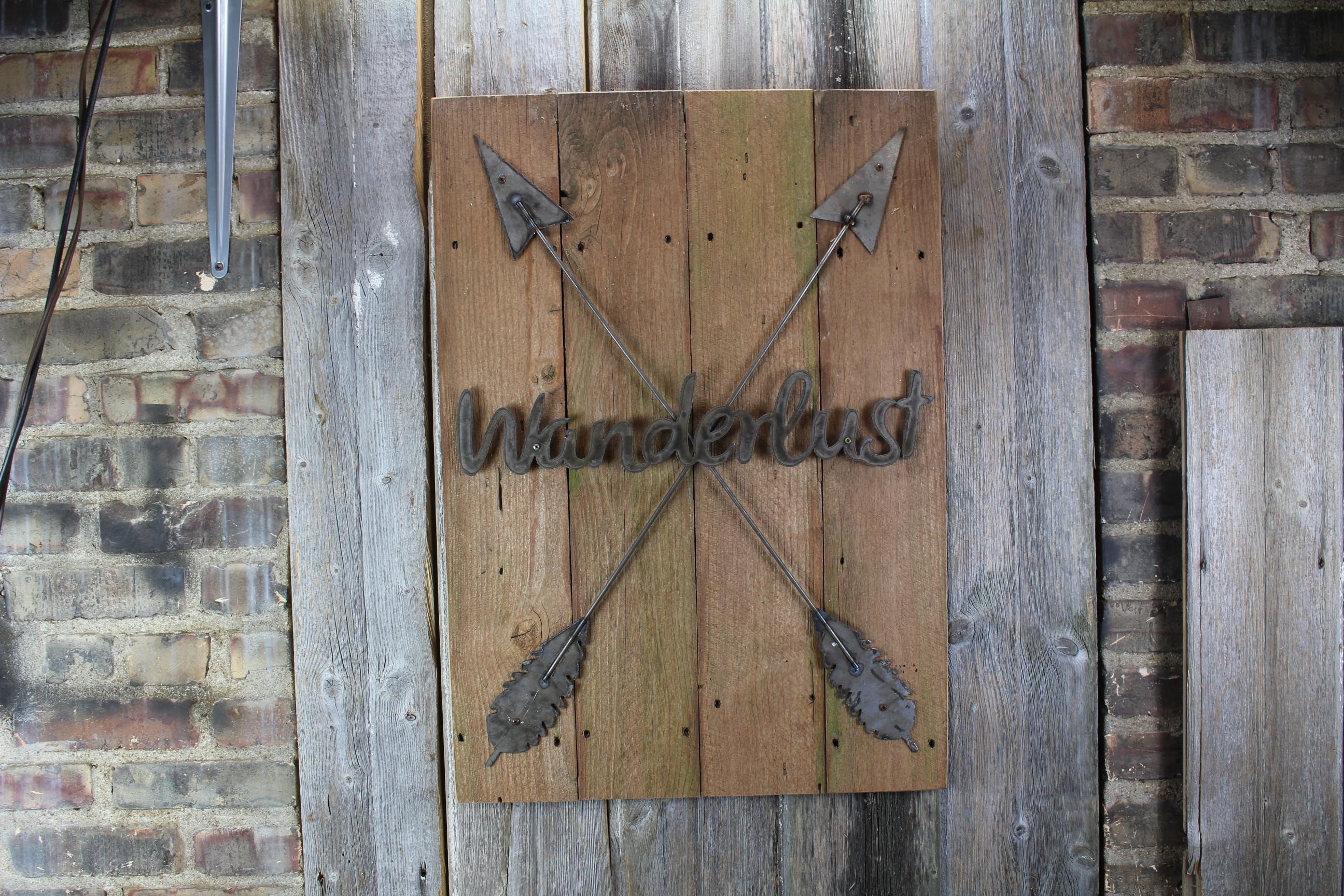 wanderlust -two arrow