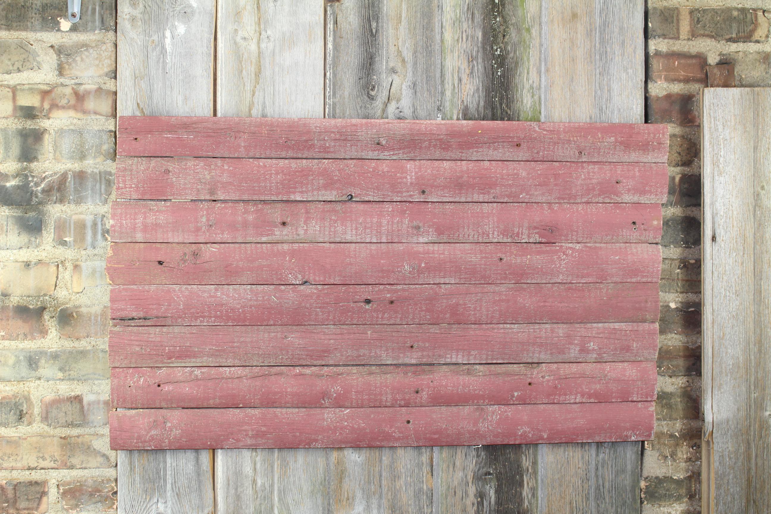 barn red woodback