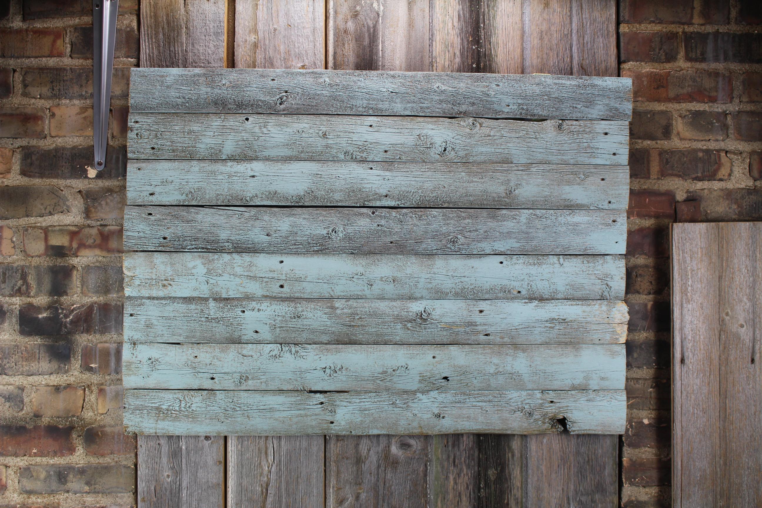 Barn blue woodback