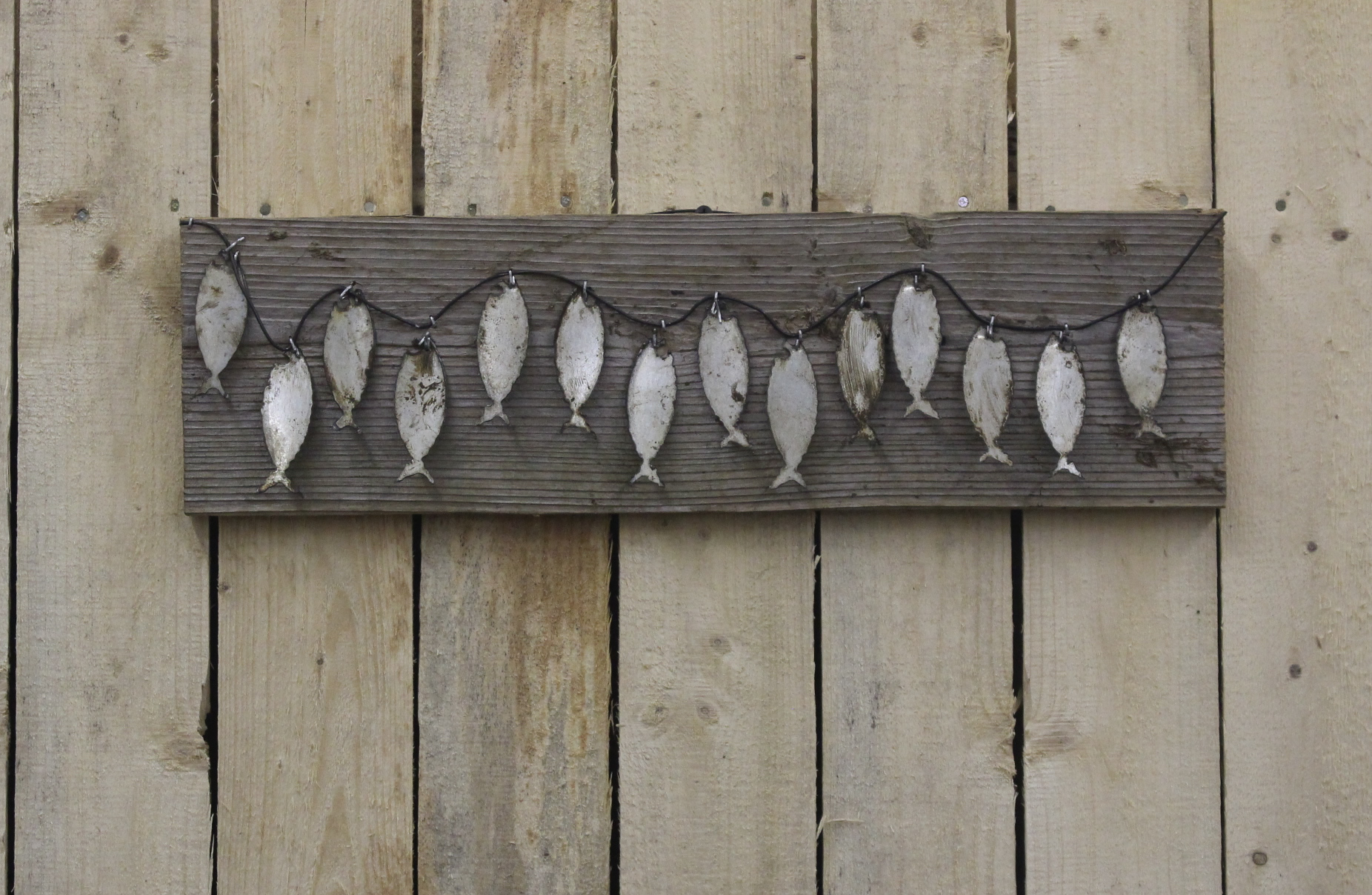 Fish Stringer Wall Hanger Rustic Metal Letters Amp Wall Art