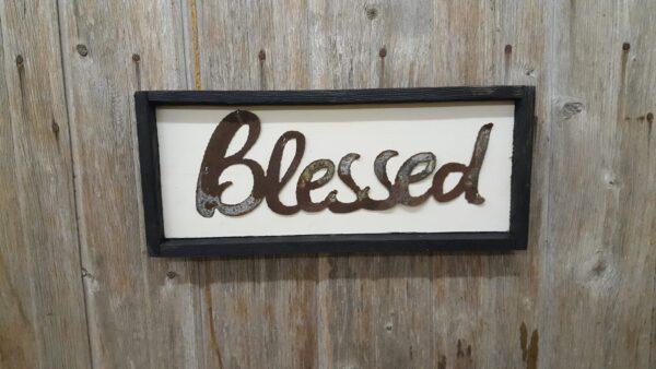 Blessed on frame