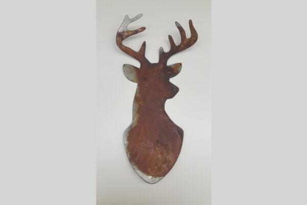 Buck head shape only