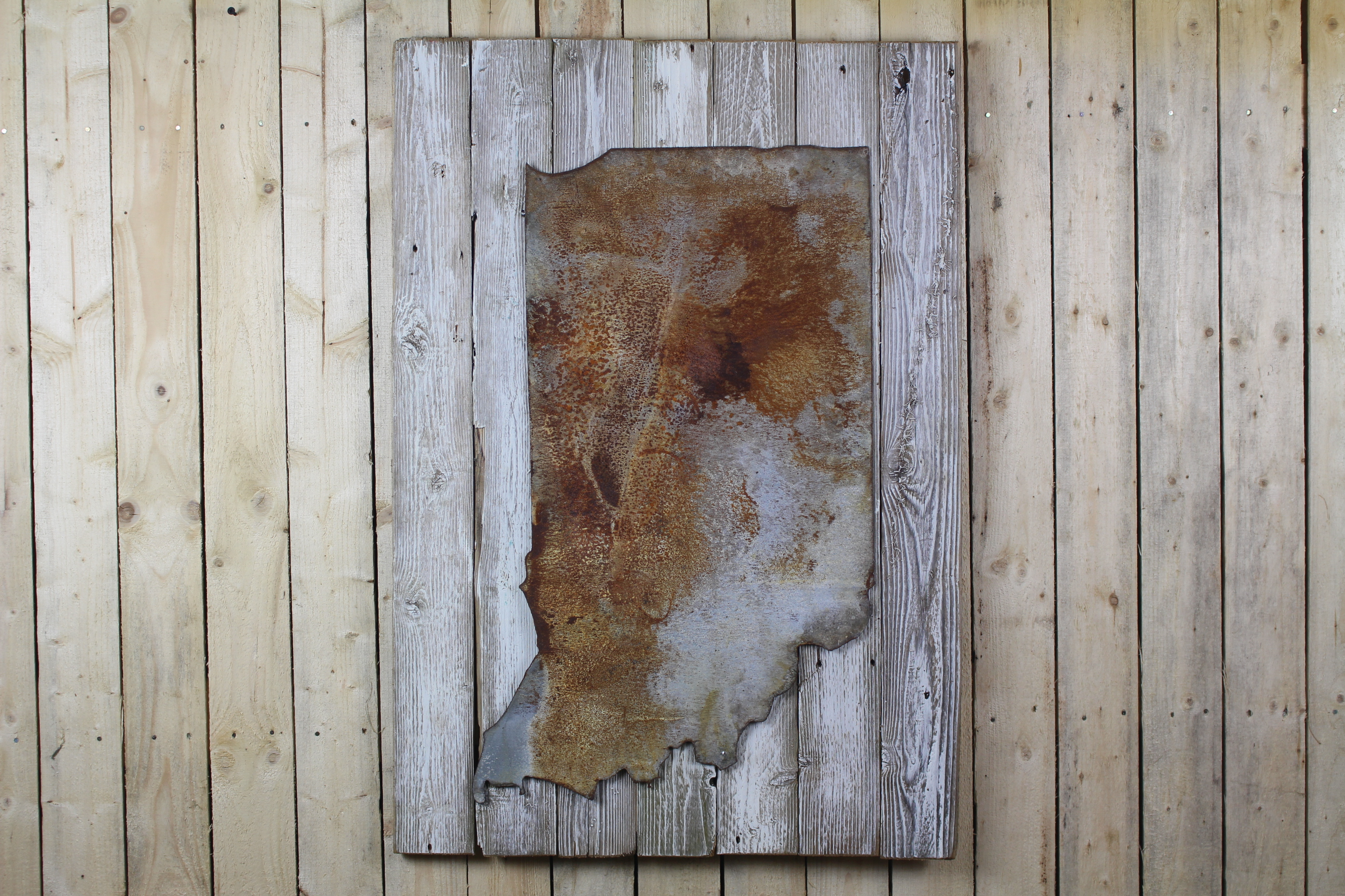 Rustic state shape