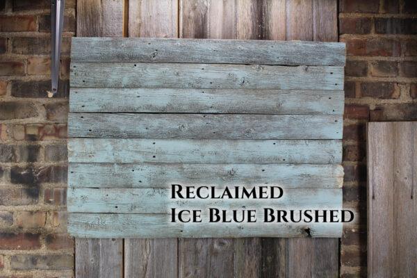 Ice blue brushed back