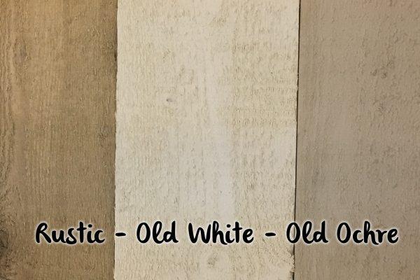 Rustic white chre