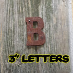 3 letters