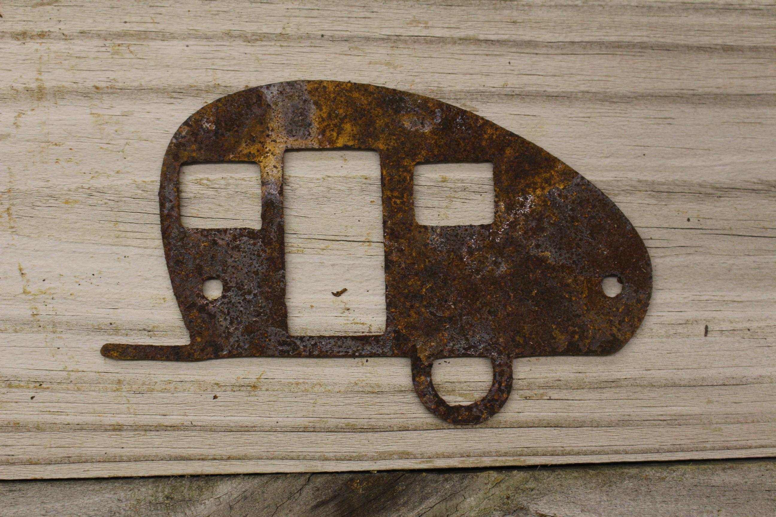 Bumper hitch camper