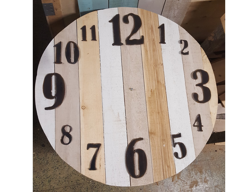 Clock Numbers Only Full Set Rustic Metal Letters Amp Wall Art