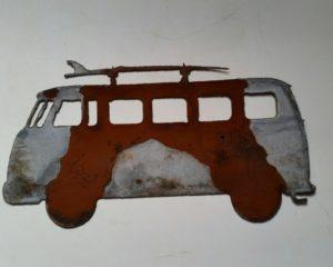 VW Bus w/ surfboard