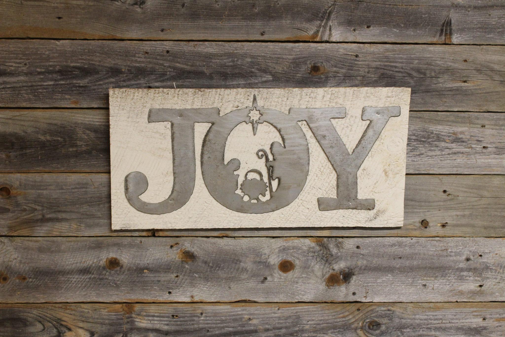 Joy with Nativity