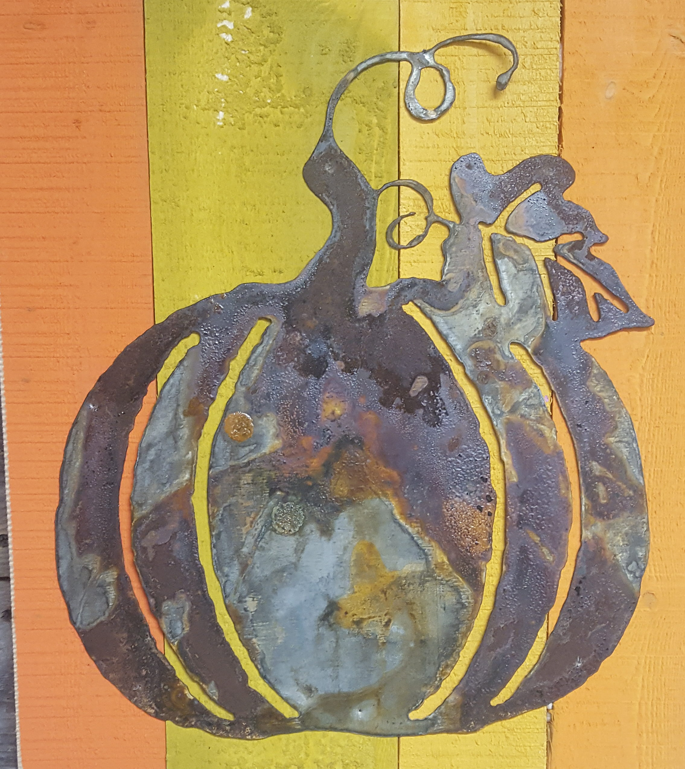 Pumpkin with drindles