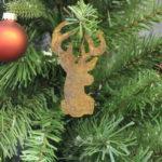Buck head ornaments
