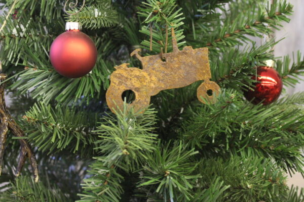 Tractor ornament