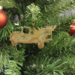 Truck tree ornaments