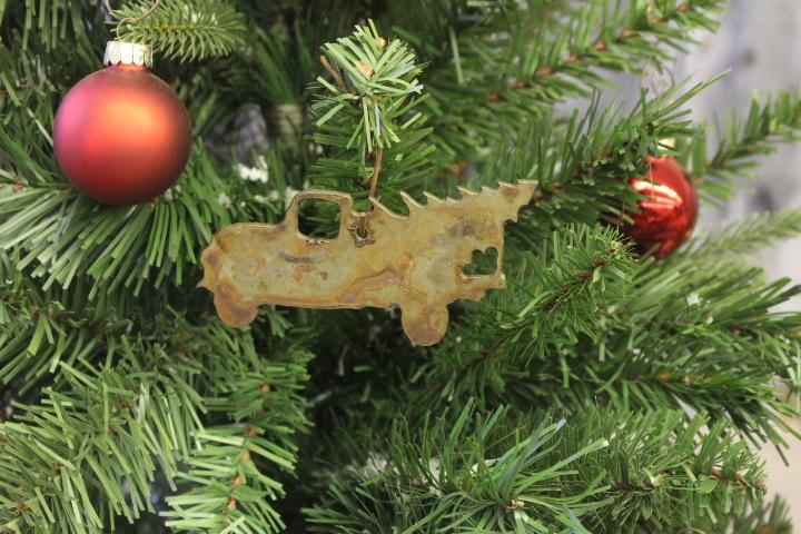 Truck tree ornaments