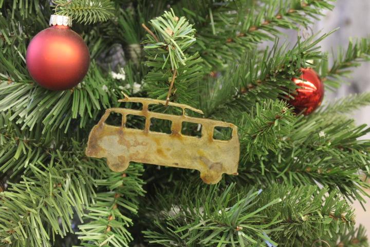 VW Bus ornaments