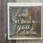 Bible verse wall art